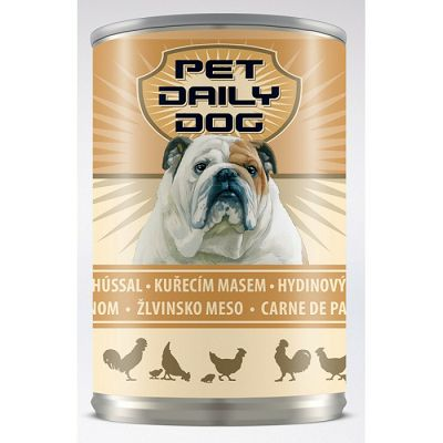 Pet Daily Dog/ PILETINA 415g