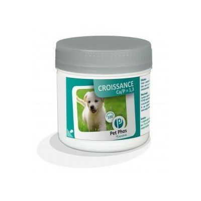 PET-PHOS Croissance dog CA/P=1,3 100 tableta