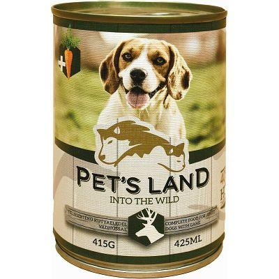Pet's Land/ DIVLJAĆ 415g