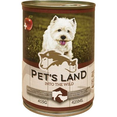 Pet's Land JAGNJETINA/GOVEDINA 415g