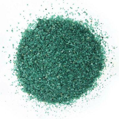 Pijesak u boji za akvarijum 1kg zeleni