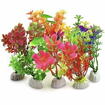 Plastična biljka za akvarij mix