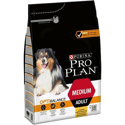 Pro Plan Adult Medium, Opti Balance, hrana za pse sa piletinom 3kg