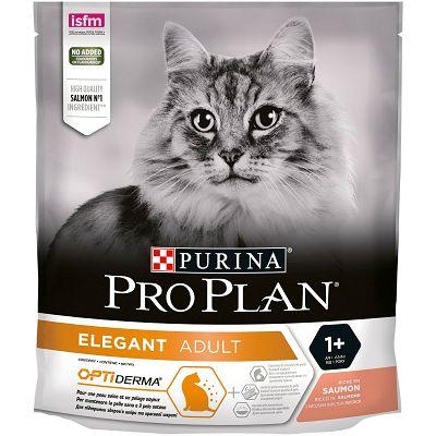 Pro Plan Elegant Adult, Opti Derma hrana za mačke sa lososom 400g