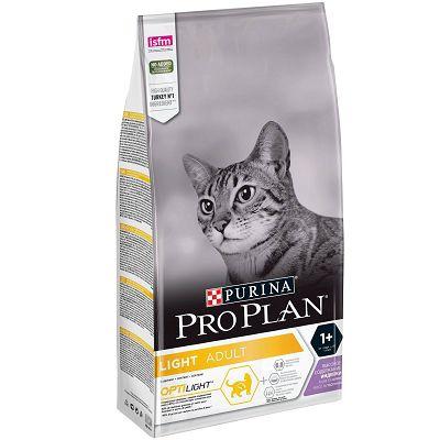 Pro Plan Light Adult, Opti Light hrana za mačke sa puretinom 1,5kg