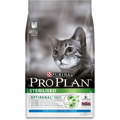 Pro Plan Sterilised, Opti Renal hrana za mačke sa zečetinom 400g