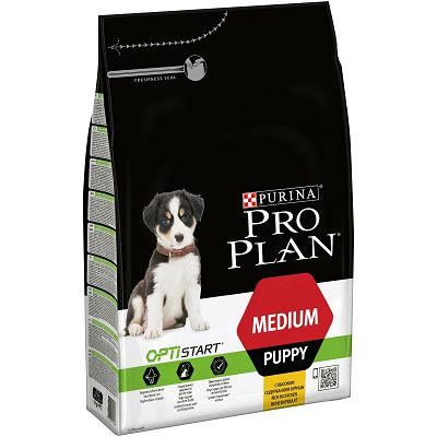 Pro Plan Puppy Medium, Opti Start, hrana za pse sa piletinom 3kg