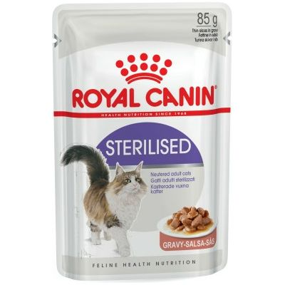 Royal Canin Pouch / Adult STERILISED GRAVY (u umaku) 85g