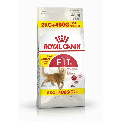Royal Canin Regular FIT hrana za mačke 2kg+400g