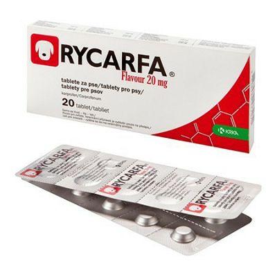 Rycarfa Flavour tablete za pse 20mg