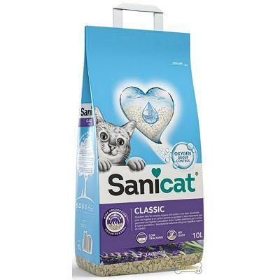 Sanicat Classic lavanda pijesak za mačke 10L