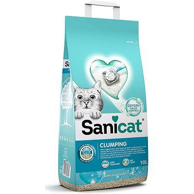 Sanicat Marseille Clumping grudvajući pjesak za mačke 10 L