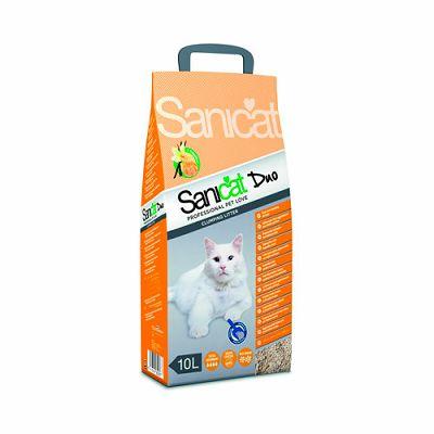 Sanicat Duo pijesak za mačke 10 lit