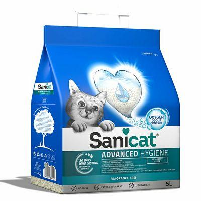 Sanicat Oxygen Advanced Hygiene pijesak za mačke 5 L
