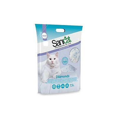 Sanicat Professional Silica Diamonds 7,5 L pijesak za mačke