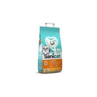 Sanicat vanilija i mandarina grudvajući pijesak za mačke 8 L