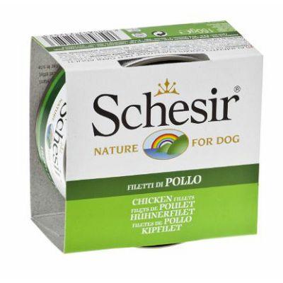 Schesir hrana za pse piletina file 150g