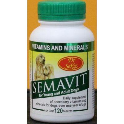 Dr.Sekiz Semavit za pse 120 tableta