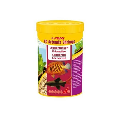 Sera FD Artemia Shrimps hrana za akvarijske ribe 250ml