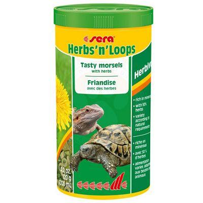 Sera Herbs 'n' Loops hrana za kornjače i reptile 1000ml