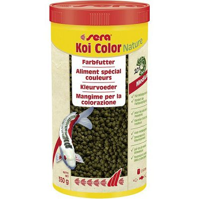 Sera hrana za ribe Koi Color Medium 1000ml