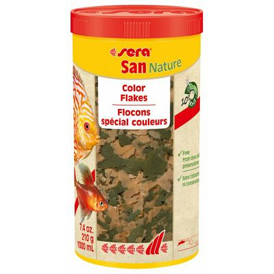 Sera San Nature Color Flakes 1000ml