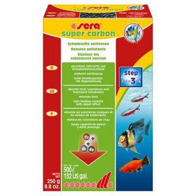 Sera / Super Carbon 250g