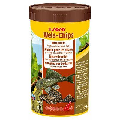 Sera Wels-Chips Nature hrana za ribe