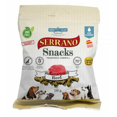 Serrano Snacks Beef poslastica za pse govedina 100g