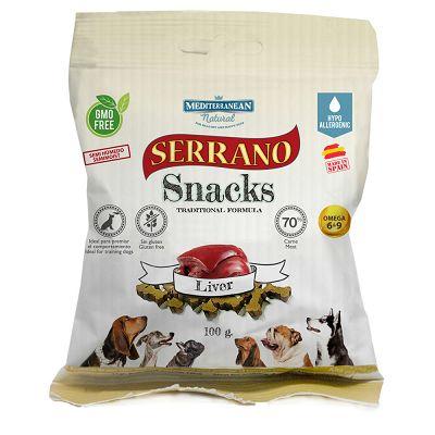 Serrano Snacks Liver poslastica za pse jetra 100g