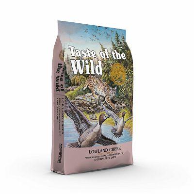 Taste of the Wid / Lowland Creek patka i prepelica hrana za mačke 2kg