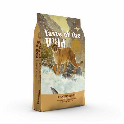 Taste of the Wild / Canyon River Feline® PASTRMKA & LOSOS 2kg