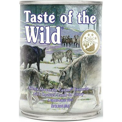 Taste Of The Wild / Sierra Mountain Canine® JAGNJETINA 390g