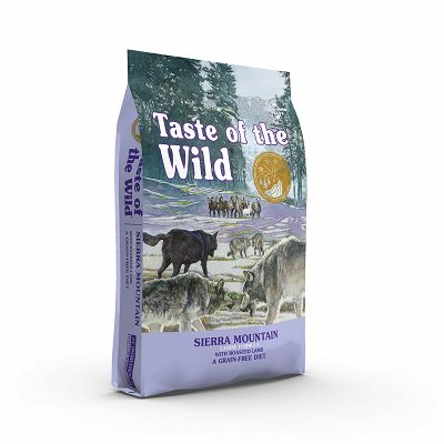 Taste of the Wild / Sierra Mountain Canine® JAGNJETINA 12,2kg