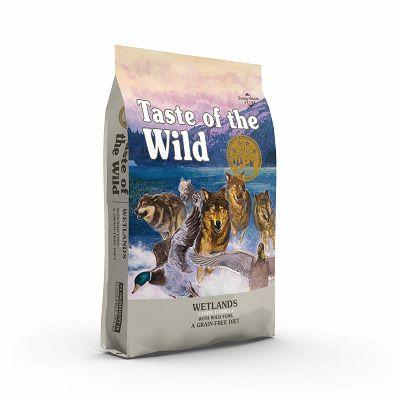 Taste of the Wild / Wetlands Canine® PATKA 12,2kg
