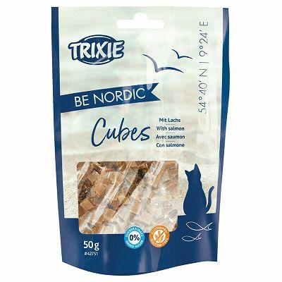 Trixie Be Nordic Salmon Cubes / losos poslastica za mačke 50g