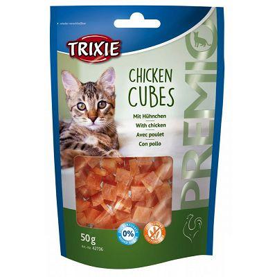Trixie Chicken Cubes pileće kockice poslastica za mačke 50g