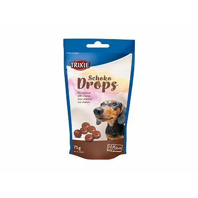 Trixie čokoladni bomboni poslastica za pse 75g