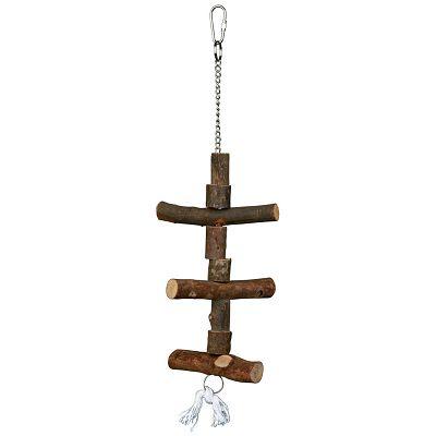 Trixie drvena igračka za ptice 40cm