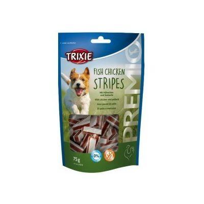 Trixie Fish Chicken Stripes pileći štapići poslastica za pse 75g