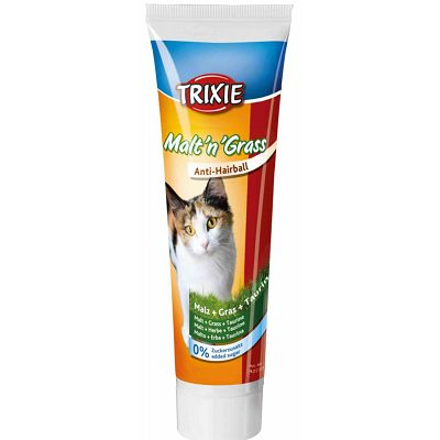 Trixie pasta za mace sa macinom travom Malt'n'Grass Anti-Hairball 100g