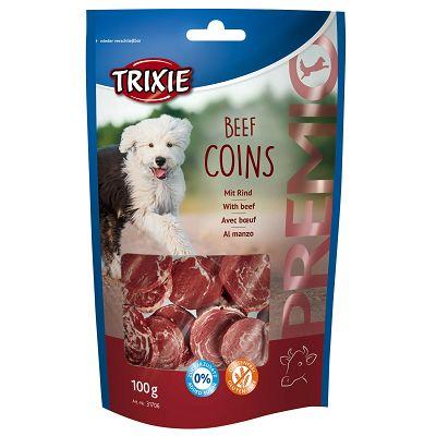Trixie poslastica za pse Coins govedina 100g