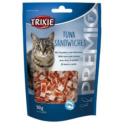 Trixie Poslastice za mačke / TUNA+PILETINA 50g