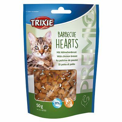 Trixie Premio Barbecue Hearts / roštiljska poslastica za mačke 50g