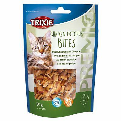 Trixie Premio Chicken & Octopus Bites / piletina i hobotnica poslastica za mačke 50g