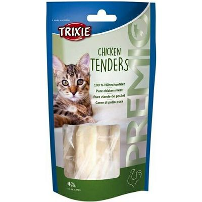 Trixie Premio Chicken Tenders / 100% piletina poslastica za mačke 70g