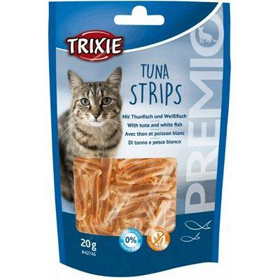 Trixie Premio Tuna Strips Real Fish / tuna poslastica za mačke 20g