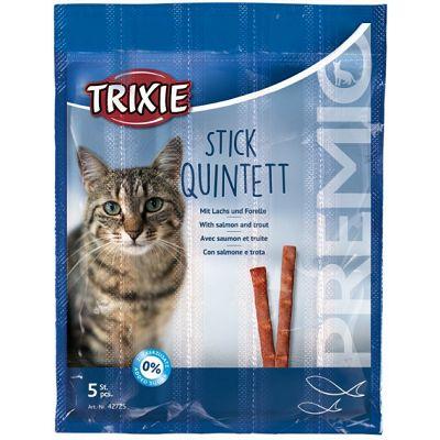 Trixie Stick Quintett riba poslastica za mace 25g