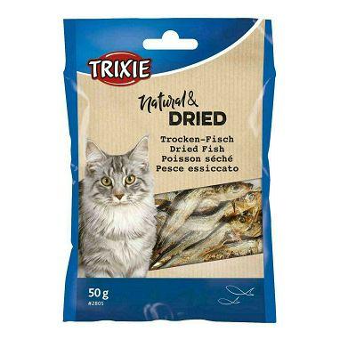 Trixie Dried Fish sušena riba poslastica za mačke 50g