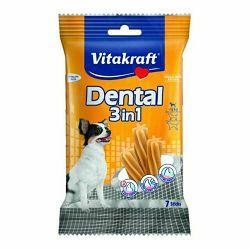 Vitakraft poslastica za pse Dental 3u1 70g